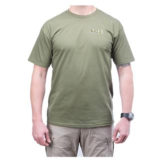 5.11 Buckshot T-Shirt OD Green