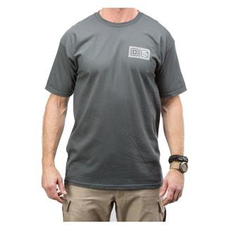 5.11 Lock Up T-Shirt Charcoal