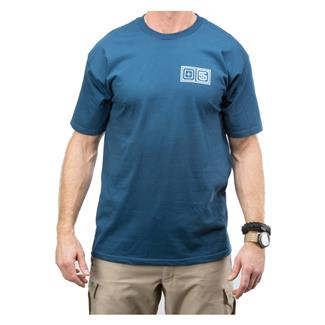 5.11 Lock Up T-Shirt Harbor Blue