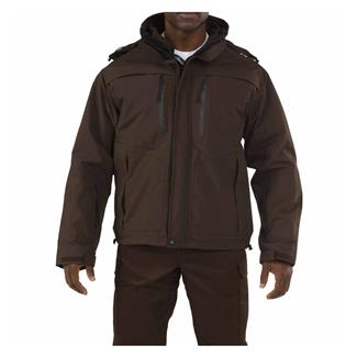 5.11 Valiant Duty Jackets Brown
