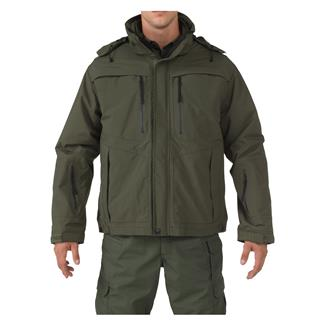 5.11 Valiant Duty Jackets Sheriff Green