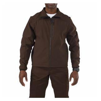 5.11 Valiant Softshell Jacket Brown