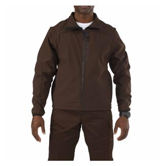 5.11 Valiant Softshell Jackets Brown