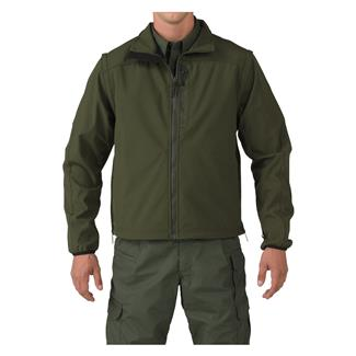 5.11 Valiant Softshell Jackets Sheriff Green