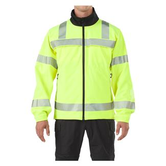 5.11 Reversible High Vis Softshell Jacket High Vis Yellow