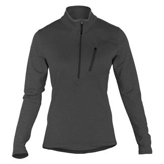 5.11 Long Sleeve Glacier Half Zip Shirt Black