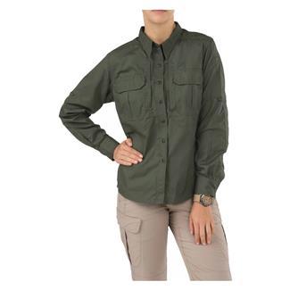 5.11 Long Sleeve Taclite Pro Shirts TDU Green
