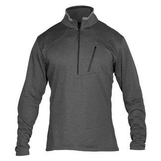 5.11 Long Sleeve RECON Half Zip Shirt Black