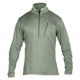 5.11 Long Sleeve RECON Half Zip Shirt Sage Green
