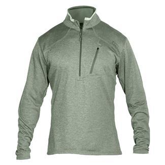 5.11 Long Sleeve RECON Half Zip Shirt Sage Green