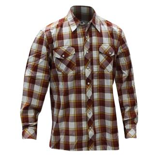 5.11 Long Sleeve Covert Flannel Shirt Ivory