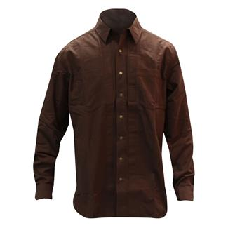 5.11 Long Sleeve Covert Herringbone Shirt Bark