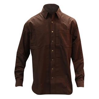 5.11 Long Sleeve Covert Herringbone Shirt Bark