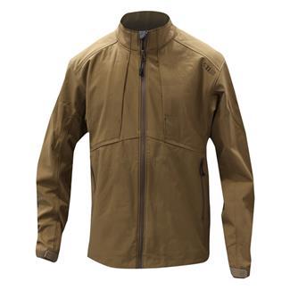 5.11 Sierra Softshell Jacket Battle Brown