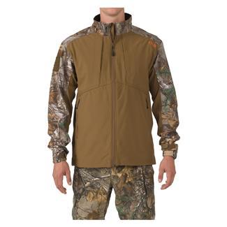 5.11 Sierra Softshell Jacket Battle Brown / Realtree Xtra