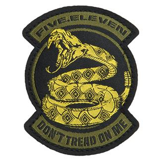 5.11 Don't Tread on Me Patch Goldfinger