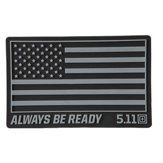 5.11 USA Patch Black