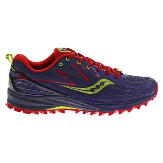 Saucony Peregrine 5 Purple / Red / Green
