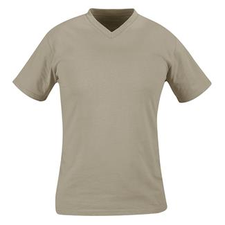 Propper V-Neck T-Shirt (3 Pack) Desert Sand