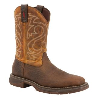 Durango Workin' Rebel Pull-On Tan / Burnt Ochre