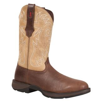 Durango Rebel Round Toe ST Brown / Tan