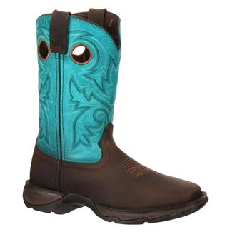 Durango Lady Rebel Bar None Brown / Turquoise