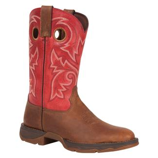 Durango Lady Rebel Bar None Pull On Brown / Rustic Red