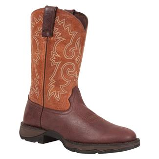 Durango Lady Rebel Bar None Round Toe Chocolate / Peanut Butter