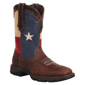 Durango Lady Rebel Flag Dark Brown / Texas Flag