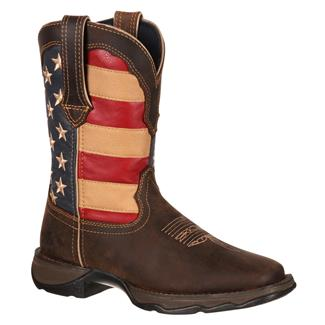 Durango Lady Rebel Flag Brown / Union Flag