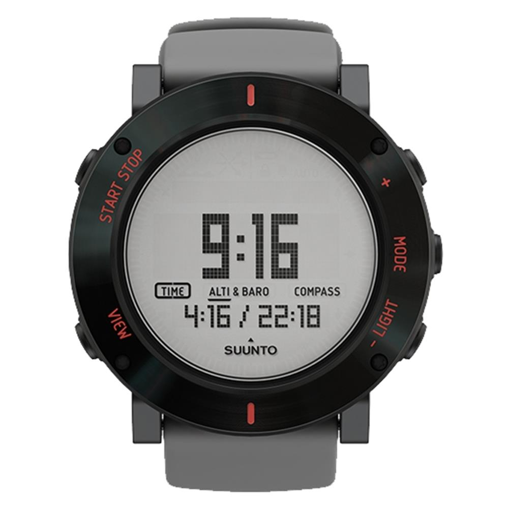 how to lock a suunto core watch