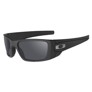 Oakley SI Fuel Cell Cerakote Graphite Black (frame) - Black Iridium Polarized (lens)