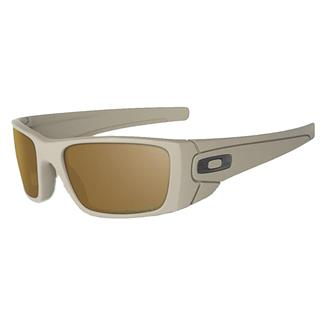 Oakley SI Fuel Cell Cerakote Tungsten Iridium Polarized Desert Sage