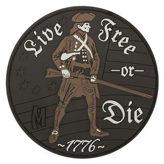 Maxpedition Live Free Or Die Patch Arid