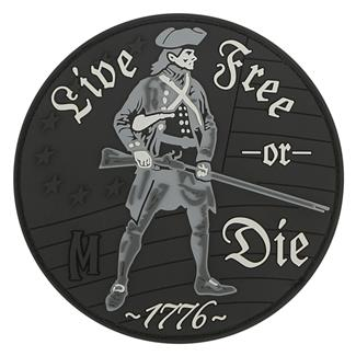 Maxpedition Live Free Or Die Patch Swat