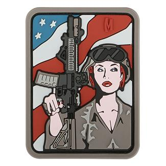 Maxpedition Soldier Girl Patch Arid