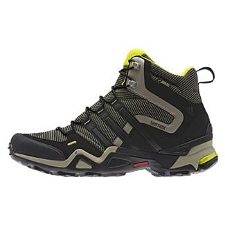 Adidas Terrex Fast X High GTX Base Green / Black / Tech Beige