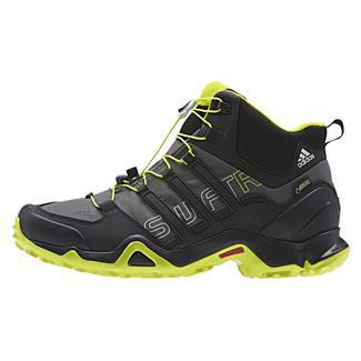 Adidas Terrex Swift R Mid GTX Base Green / Black / Semi Solar Yellow