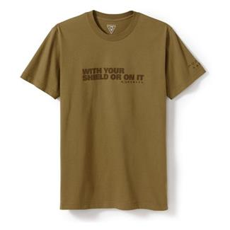 Oakley Shield T-Shirt Coyote