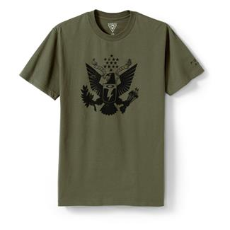 Oakley Oath Keeper T-Shirt Worn Olive