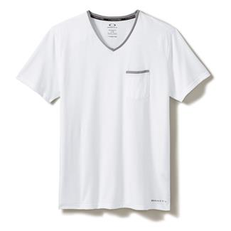 Oakley O-V Neck Pocket T-Shirt White