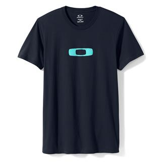 Oakley Square Me T-Shirt Navy Blue