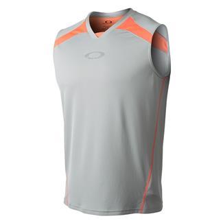 Oakley Sleeveless Accomplish T-Shirt Stone Gray
