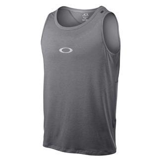 Oakley Sleeveless Stride T-Shirt Heather Gray