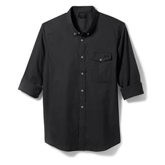 Oakley Long Sleeve Progression Woven Shirt Jet Black
