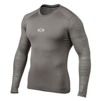 Oakley Long Sleeve Conquer Compression Shirt Grigio Scuro