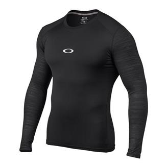 Oakley Long Sleeve Conquer Compression Shirt Jet Black