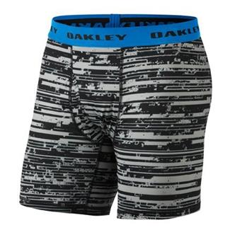 Oakley Printed P.E. Boxer Briefs Jet Black