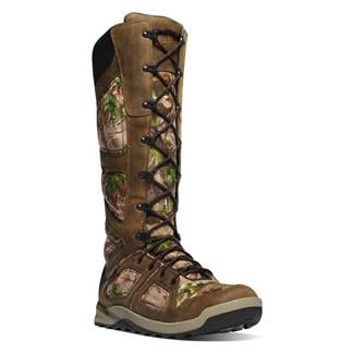 """Danner 17"""" Steadfast Snakeboots WP Realtree Xtra Green"""