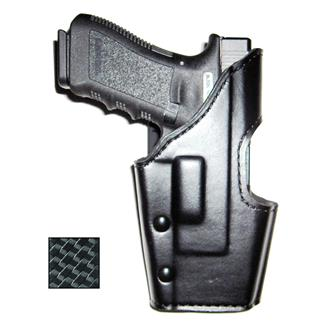 Gould & Goodrich K-Force Double Retention Duty Holster Basket Weave Black